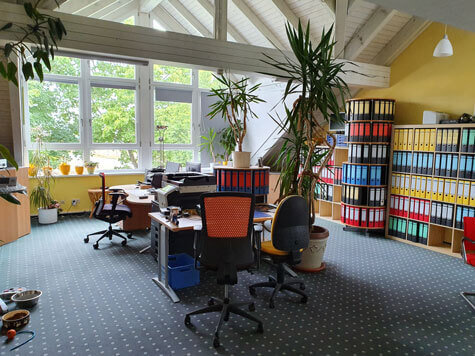 Große Ansicht Büro