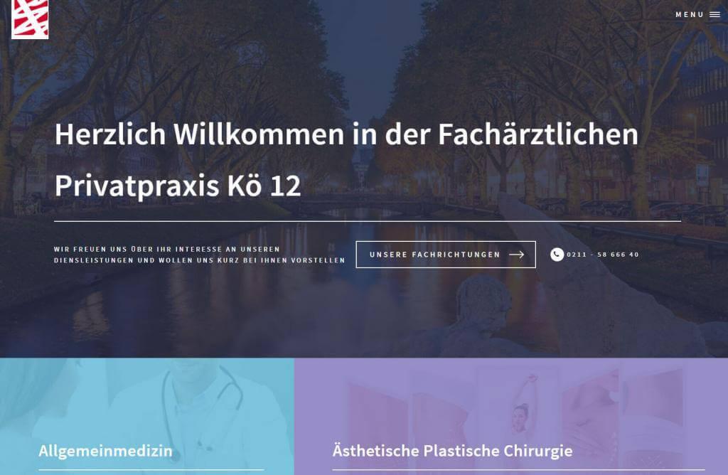Fachärzteliche Praxis Kö 12 Düsseldorf