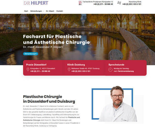 Plastische Chirurgie Düsseldorf Dr. Hilpert