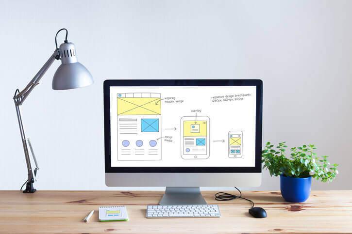 Webdesign UX-Design