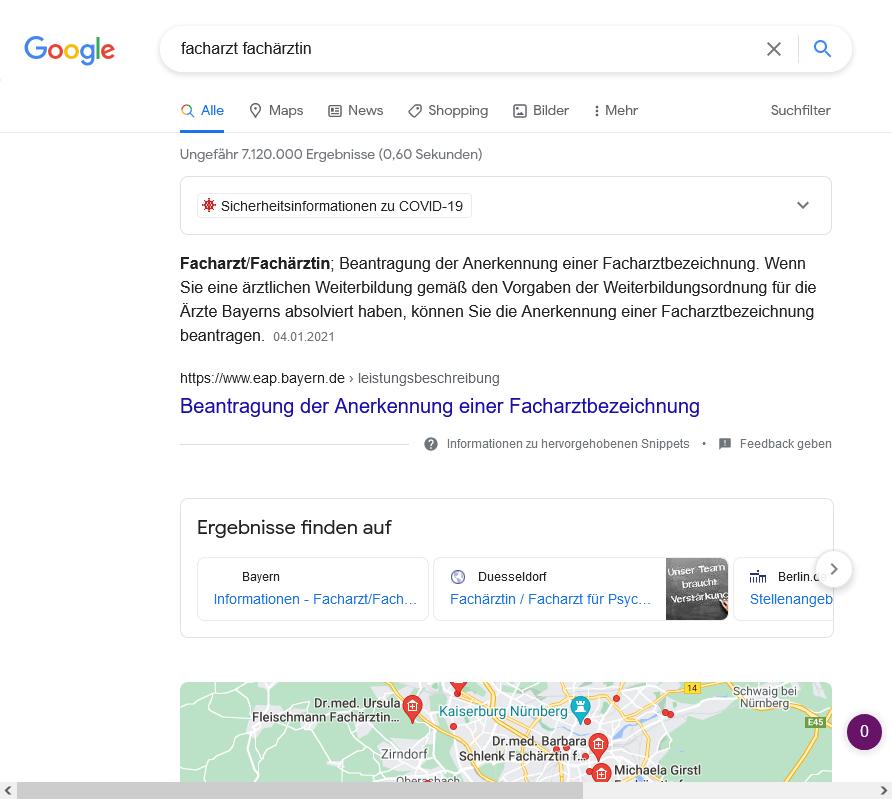 Google beide Geschlechter